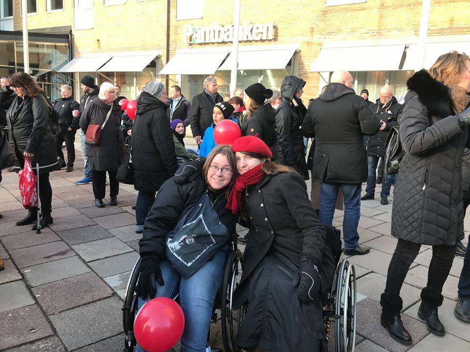 funktionsrättsdagen manifestation